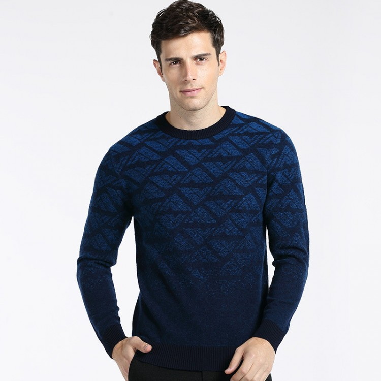 Geo-pattern sweater